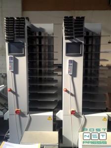 вакуумные листоподборочные башни Horizon VAC-100 (2008 год)