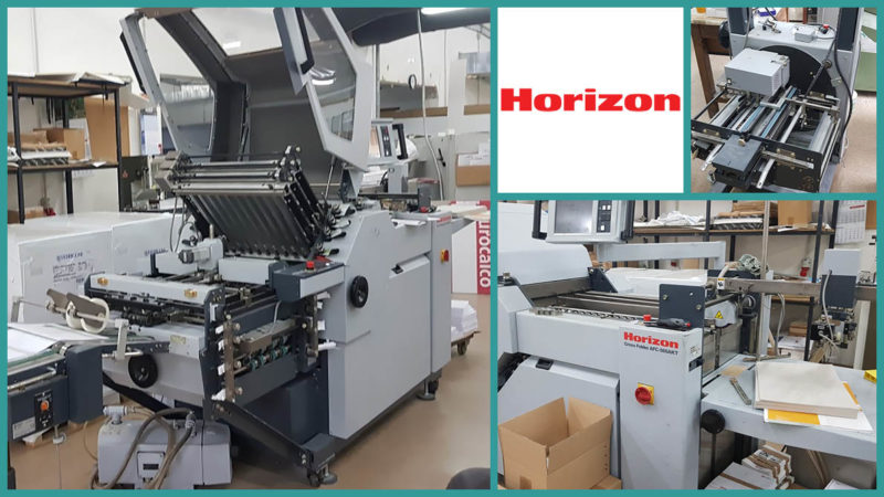 folding machine Horizon AFC-566 AKT, 2008