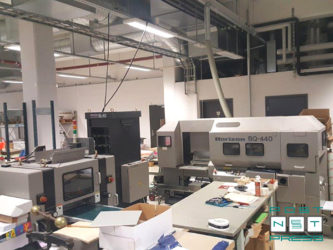 линия КБС Horizon BQ-440, SL-40, HT-70 (2002 год)