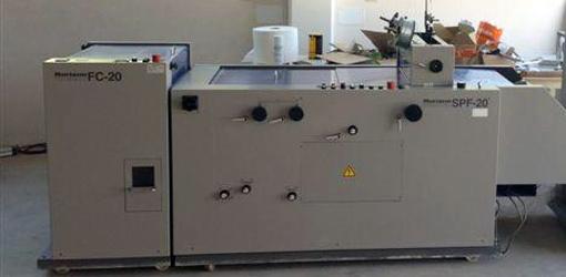 брошюровочный модуль Horizon SPF-20/FC-20 (2002 год)
