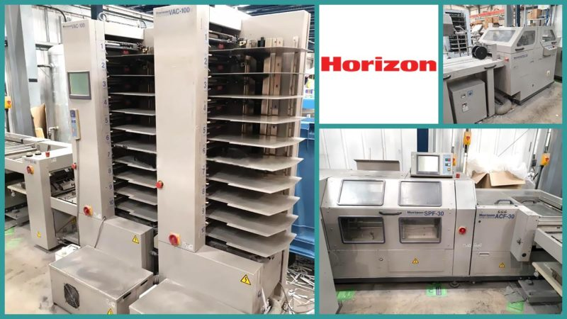 листоподборочно-брошюровальная линия Horizon StitchLiner 5500, б/у