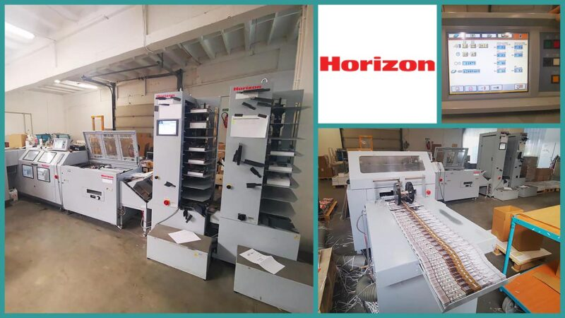 collator-saddle-stitcher Horizon Stitchliner 6000 (2015)