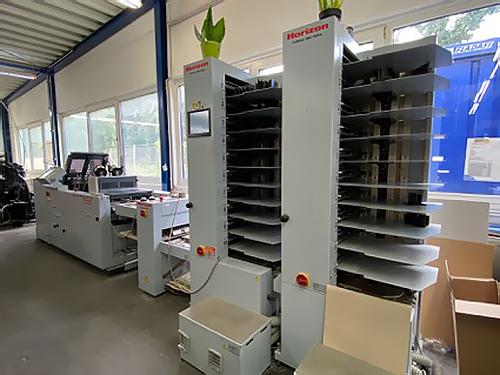 листоподборочно-брошюровальная Horizon VAC-100 / SPF-200A / FC-200A