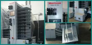 б/у башня Horizon VAC-100c + вибросталкиватель PJ-75, 2007 г. в.