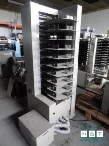 листоподборочная башня Horizon VAC-100M, 10 лотков (б/у)
