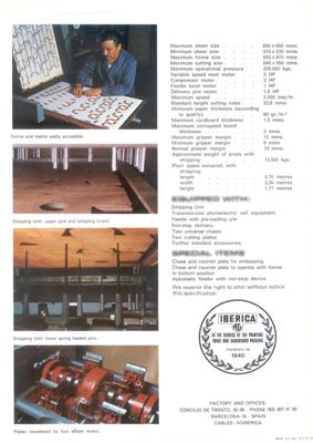 полные технические характеристики Iberica LM-55