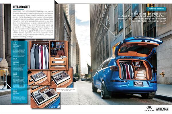 """KIA Sportage """"Work"""" (работа) – ваш офис на колесах"""