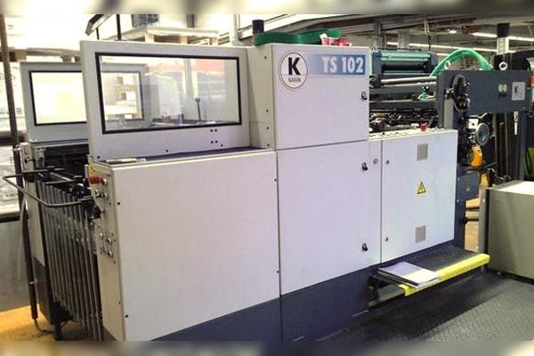 штанцевальный автомат Kama TS-102. Описание. Характеристики
