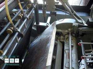 пресс Клюге EHE (381x629 мм), подвижная плита тигля
