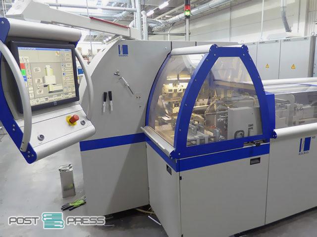 трехножевой резательный автомат Kolbus HD 143.P