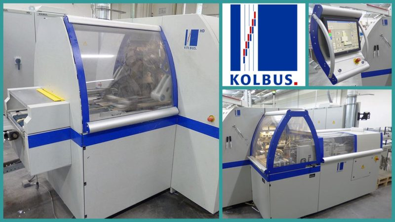 KOLBUS Three Knife Trimmer HD 143.P (2010)