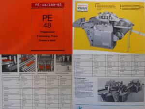 техническая документация Kolbus PE-48