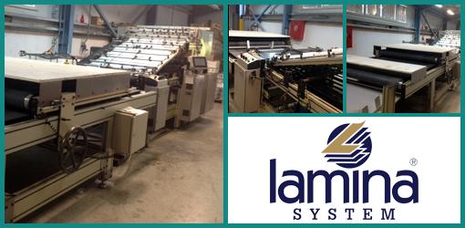 кашировальная машина модульного построения Lamina 1110 FA 85 (б/у)