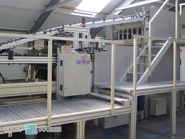 автоматическая кашировальная машина Lamina 1116 FA 1600/800 (2001)
