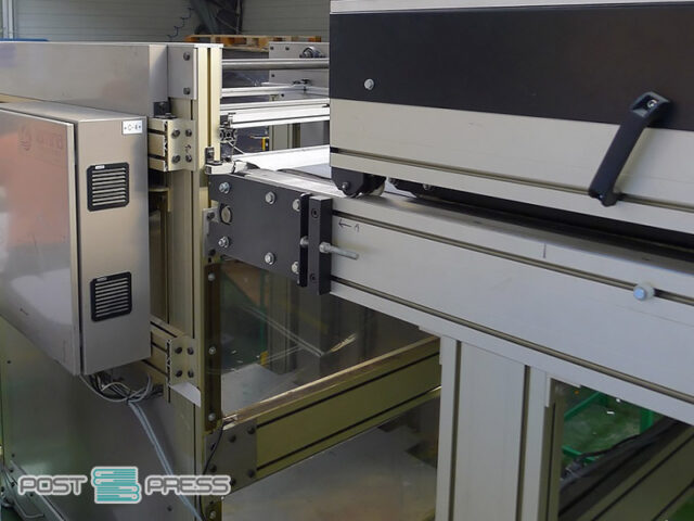 used sheet to sheet laminating/mounting machine Lamina 1116 FA FEEDER 1600/800