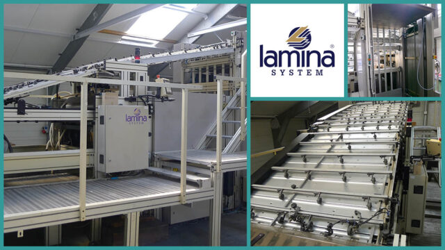 flute laminating Lamina FA 1116 (2001)
