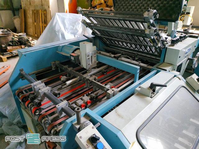 кассетно-ножевая фальцовка MBO K55/4 KL F55 (склад в Украине)