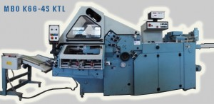 кассетно-ножевая фальцевальная машина MBO K66-4S KTL