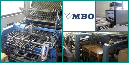 комбинированная фальцовка MBO K 72/4 KTL (1991 год)
