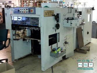плоскоштанцевальный автомат MY-720 формата B2 (б/у)