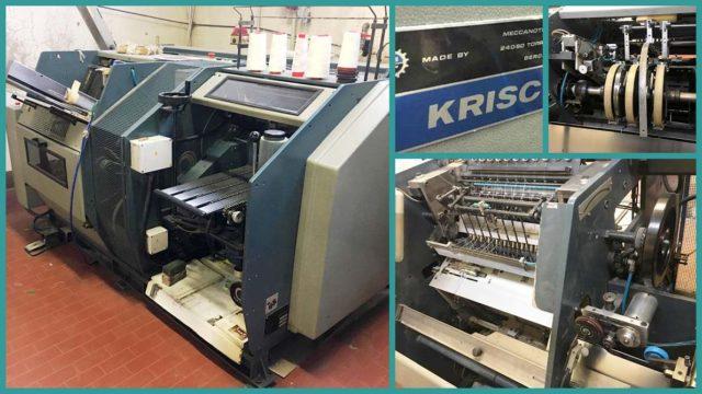 автоматическая ниткошвейная машина Meccanotecnica Aster Krisc, 1991 г.в.