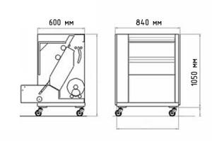 станок для поштучной упаковки в плёнку Minipack Mailbag (б/у)