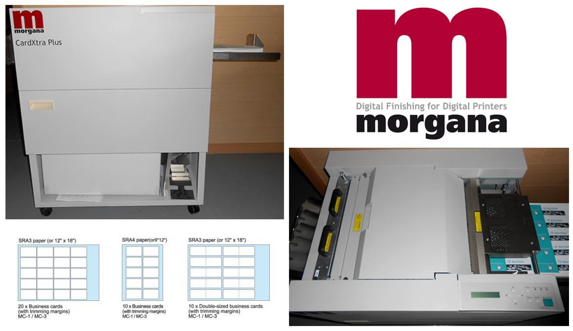 cистема автоматической резки и биговки Morgana CardXtra Plus (б/у)