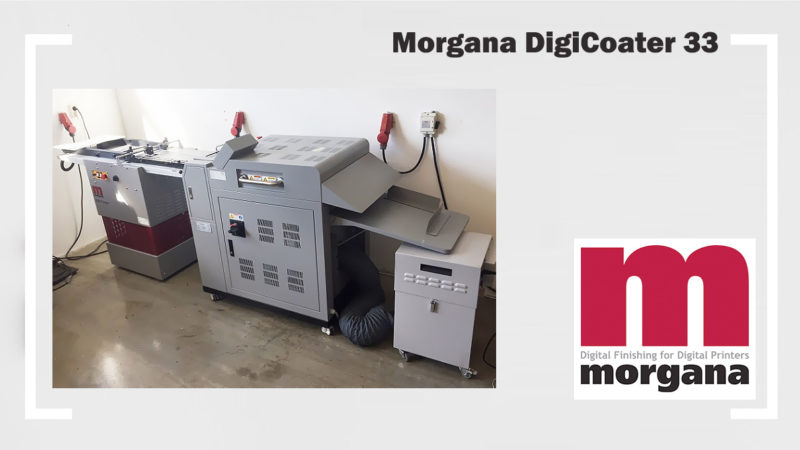 digital UV-coater (varnishing) Morgana DigiCoater 33