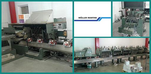 продажа ВШРА Muller Martini 321, 6+обложка (1988 год)