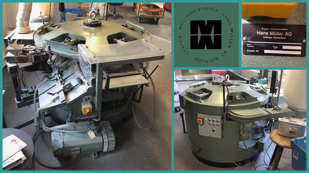 used perfect binder Muller Martini Baby Pony 246 (1986)