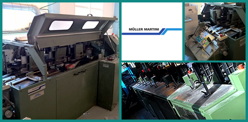 линия КБС Muller Martini Panda 1530, Muller Martini 1531, Muller Martini DS 240