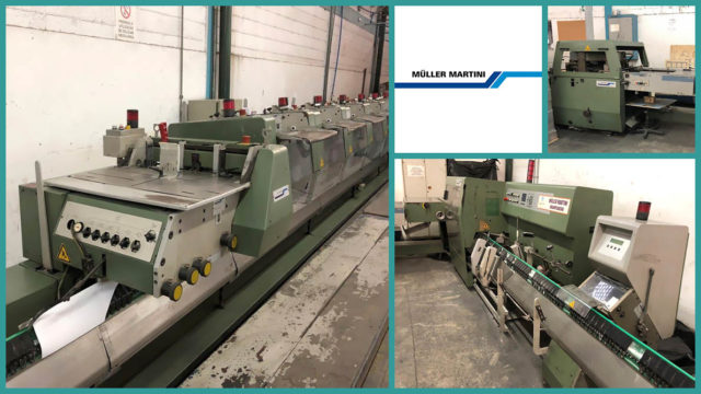 used saddle stitcher Müller Martini Prima (1997)