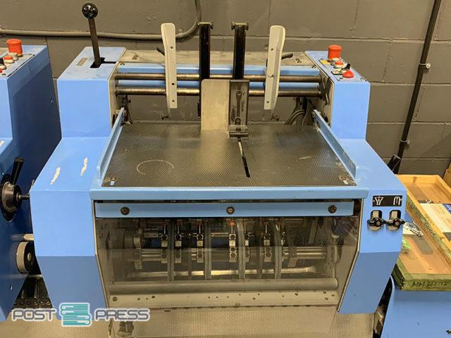 вкладышно-швейно-резательный агрегат Мюллер Мартини Primera A110 (2010)
