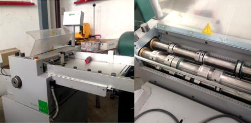 машина для биговки, рицовки, перфорации, продольной резки Multigraf DCM-52 (б/у)