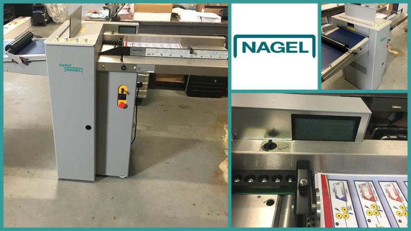 биговально-фальцевальная машина Nagel DigiFold (2004)