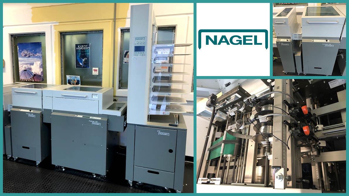 брошюровальная линия Nagel S8, Foldnak 100, Trimmer 100, SP 100 (2013 год)