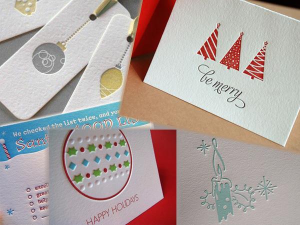 новогодние открытки выполненные на станках высокой печати