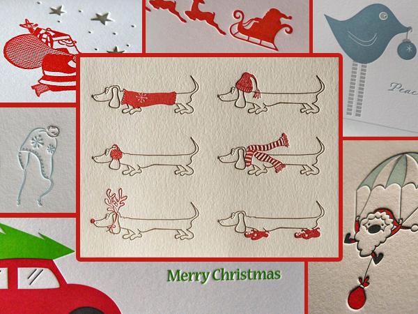открытки сделанные высокой печатью (поздравительные, новогодние, зимние)