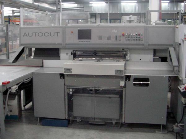 специализированная резальная машина Polar Autocut 90