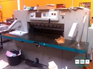 одноножевая бумагорезательная машина Perfecta 115 TVC (2000)