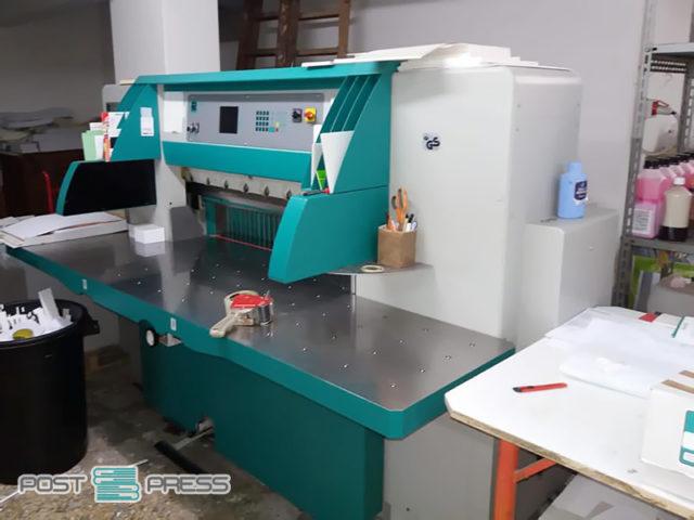 paper cutter Perfecta 115 UC (age 2004)