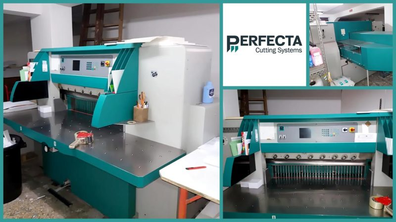 бумагорезательная машина (гильотина) Perfecta 115 UC (2004)