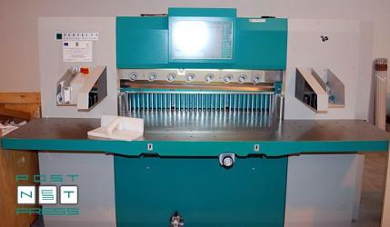 одноножевая бумагорезательная машина Perfecta 115 (2011 г.в.)