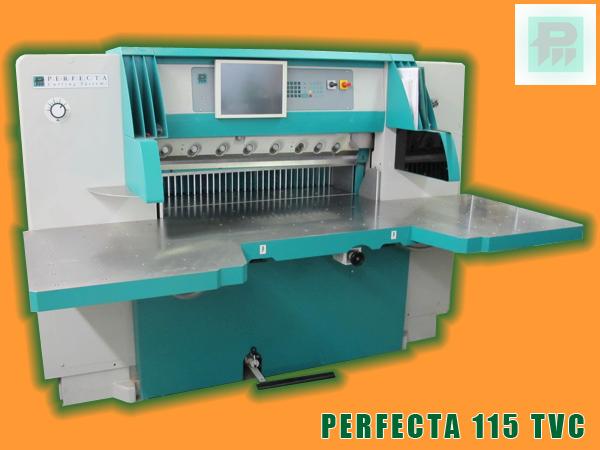 одноножевая бумагорезательная машина Perfecta 115 TVC