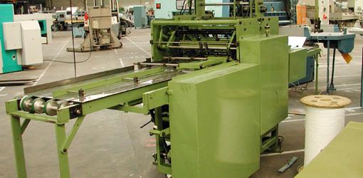 машина для формирования и навивки металлической спирали Pfaeffle F 68 a