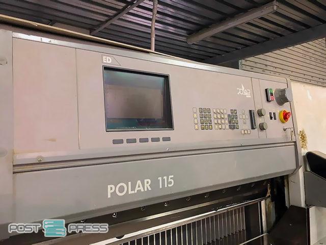 бумагорезальная машина Полар 115 ED (б/у)
