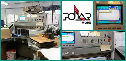 резак для бумаги Polar Mohr 115 ED (2000 год)
