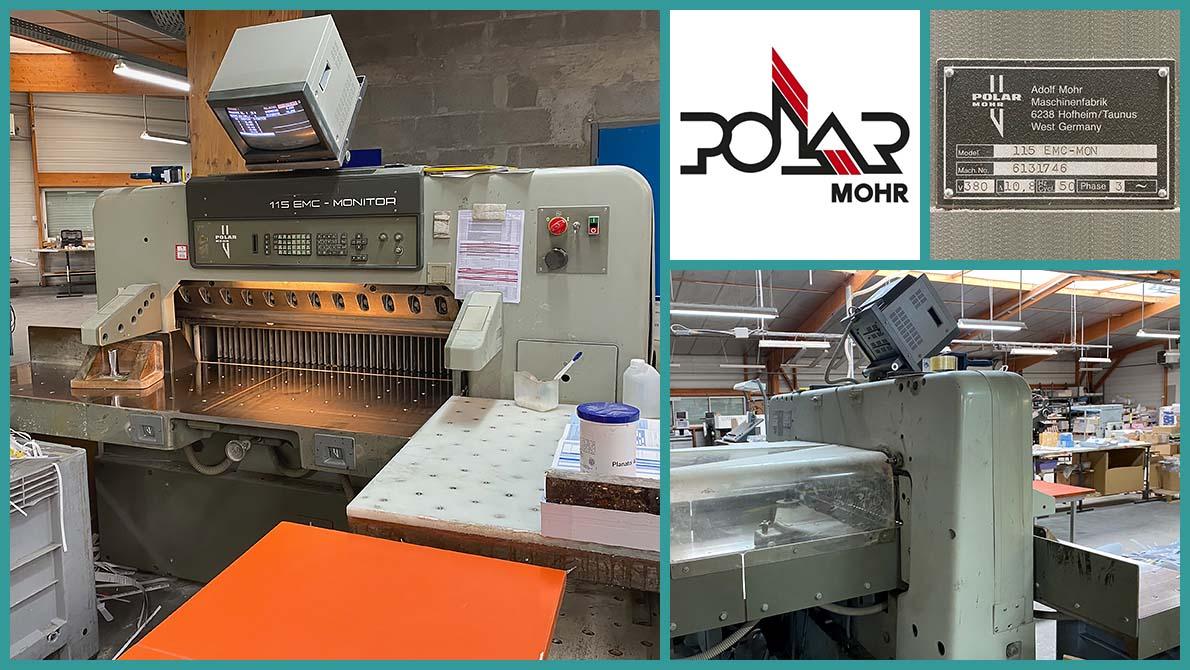 paper cutter Polar 115 EMC-MON (1991)