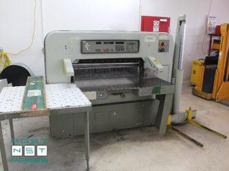 бумагорезательная машина Polar 115 EMC, 1984 год