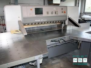 бумагорезательная машина Polar 137 ED Autotrim (2001 год)